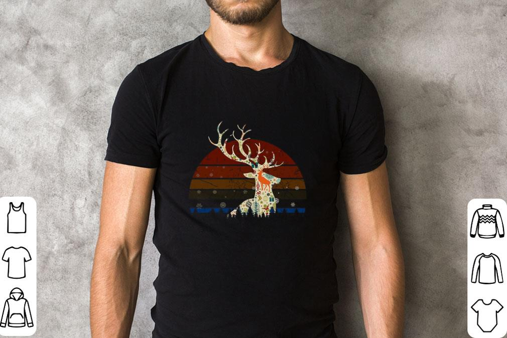 Hot Reindeer Christmas Retro Sunset Shirt 2 1.jpg