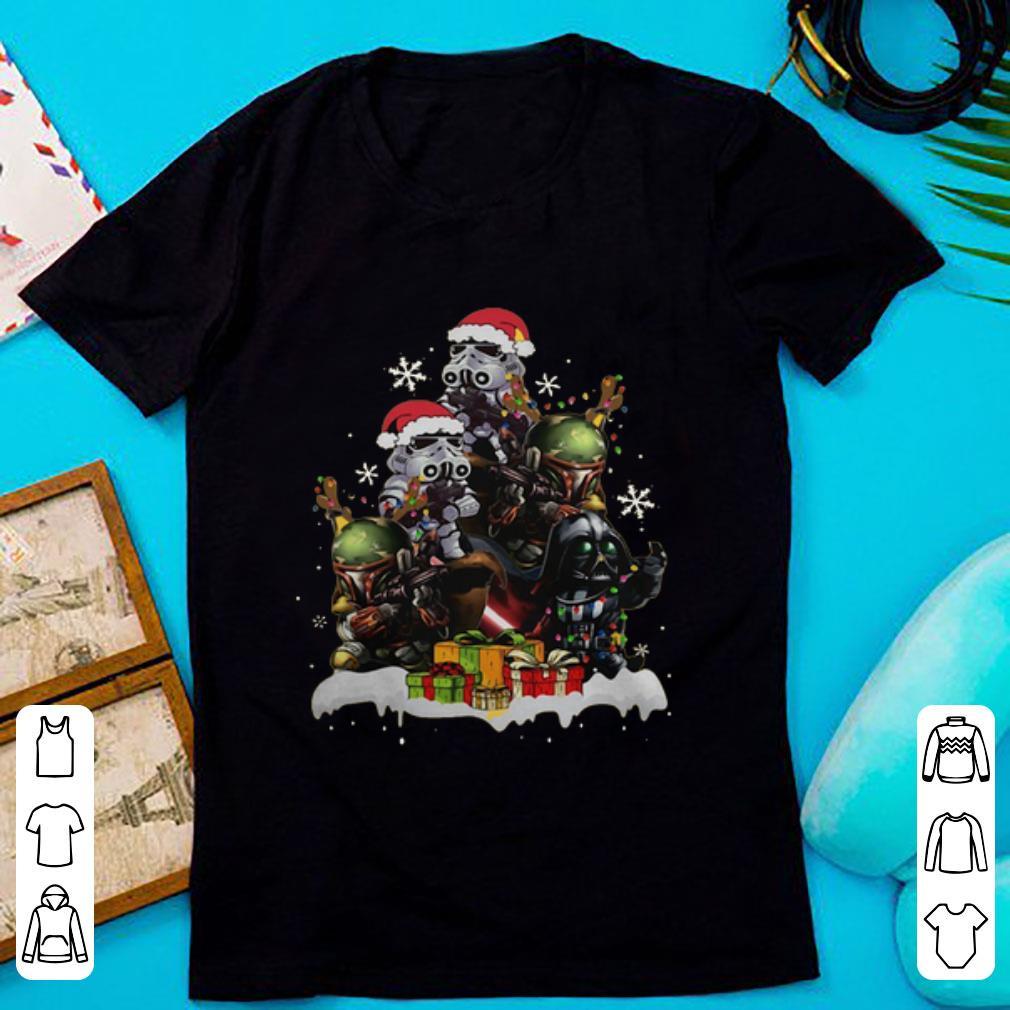 Hot Star Wars Boba Fett Darth Vader Stormtrooper Boba Christmas Tree Shirt 1 1.jpg