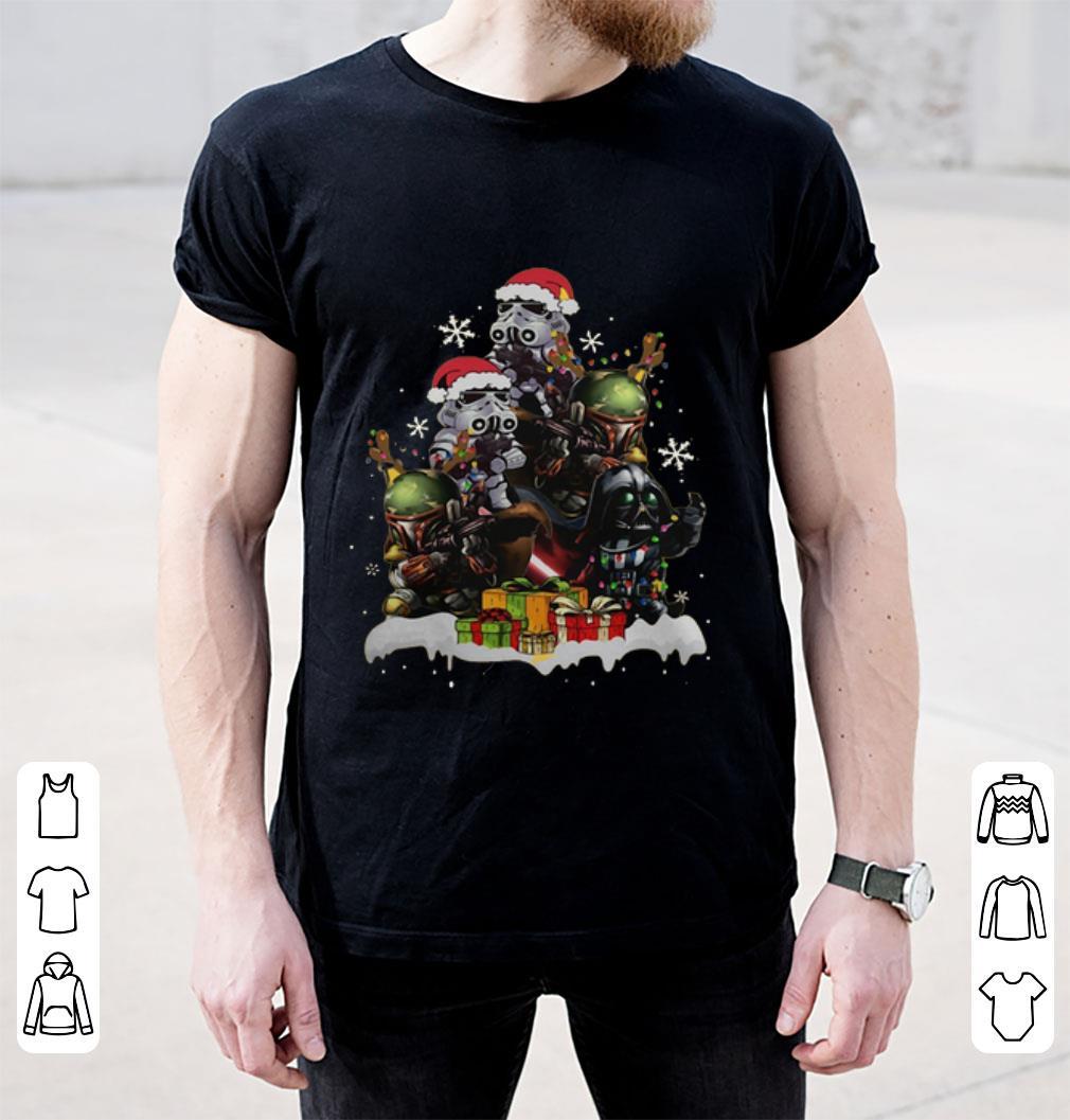 Hot Star Wars Boba Fett Darth Vader Stormtrooper Boba Christmas Tree Shirt 2 1.jpg