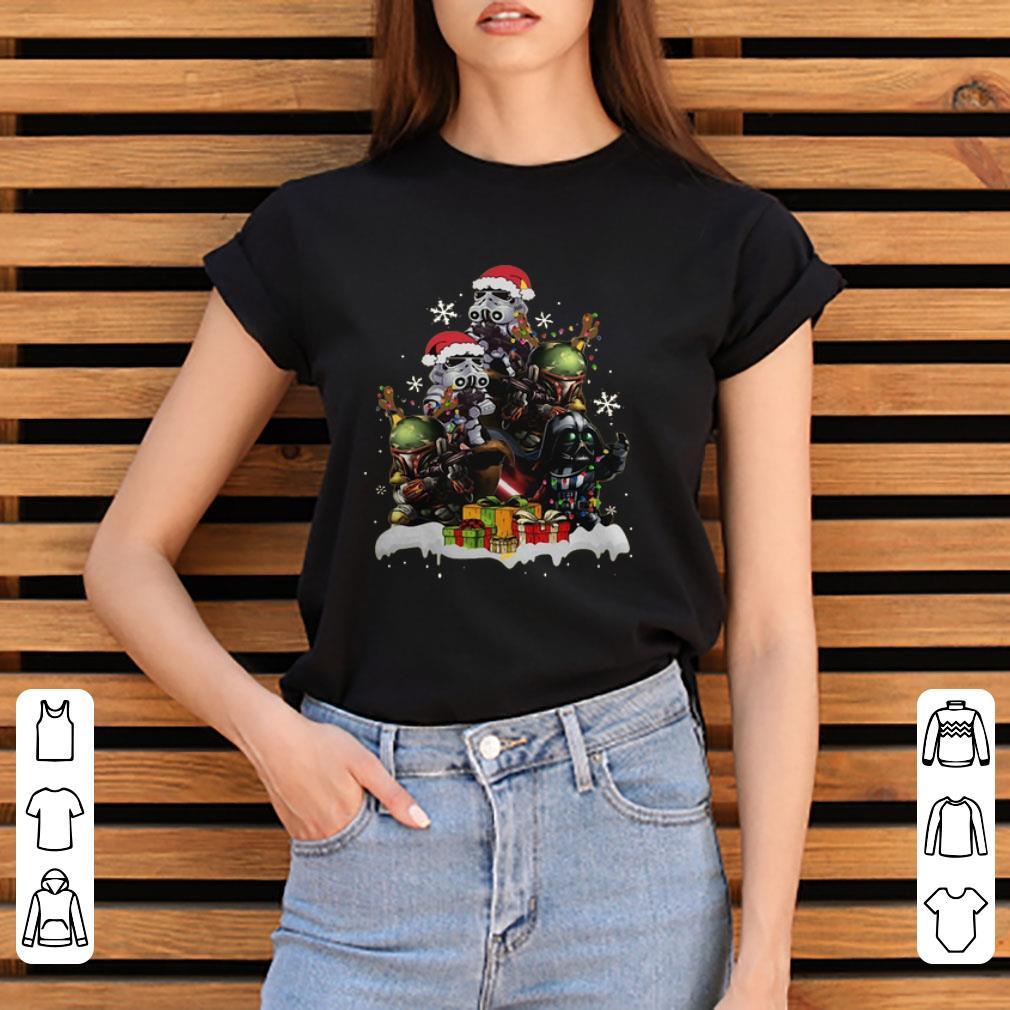 Hot Star Wars Boba Fett Darth Vader Stormtrooper Boba Christmas Tree Shirt 3 1.jpg