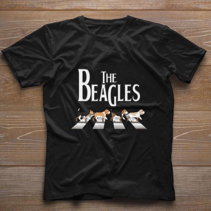 Hot The Beagles Abbey Road The Beatles Shirt 1 1.jpg