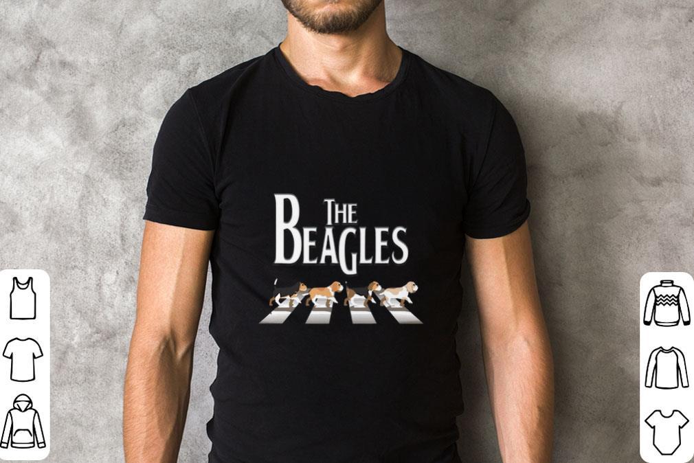 Hot The Beagles Abbey Road The Beatles Shirt 2 1.jpg