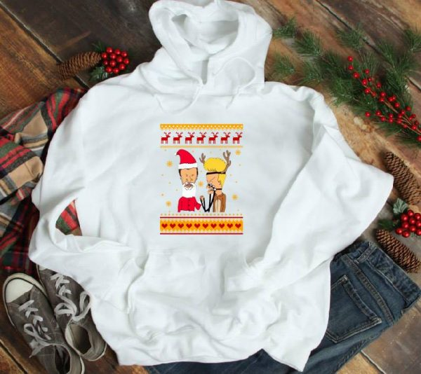Hot Ugly Christmas Beavis And Butthead Shirt 1 1.jpg