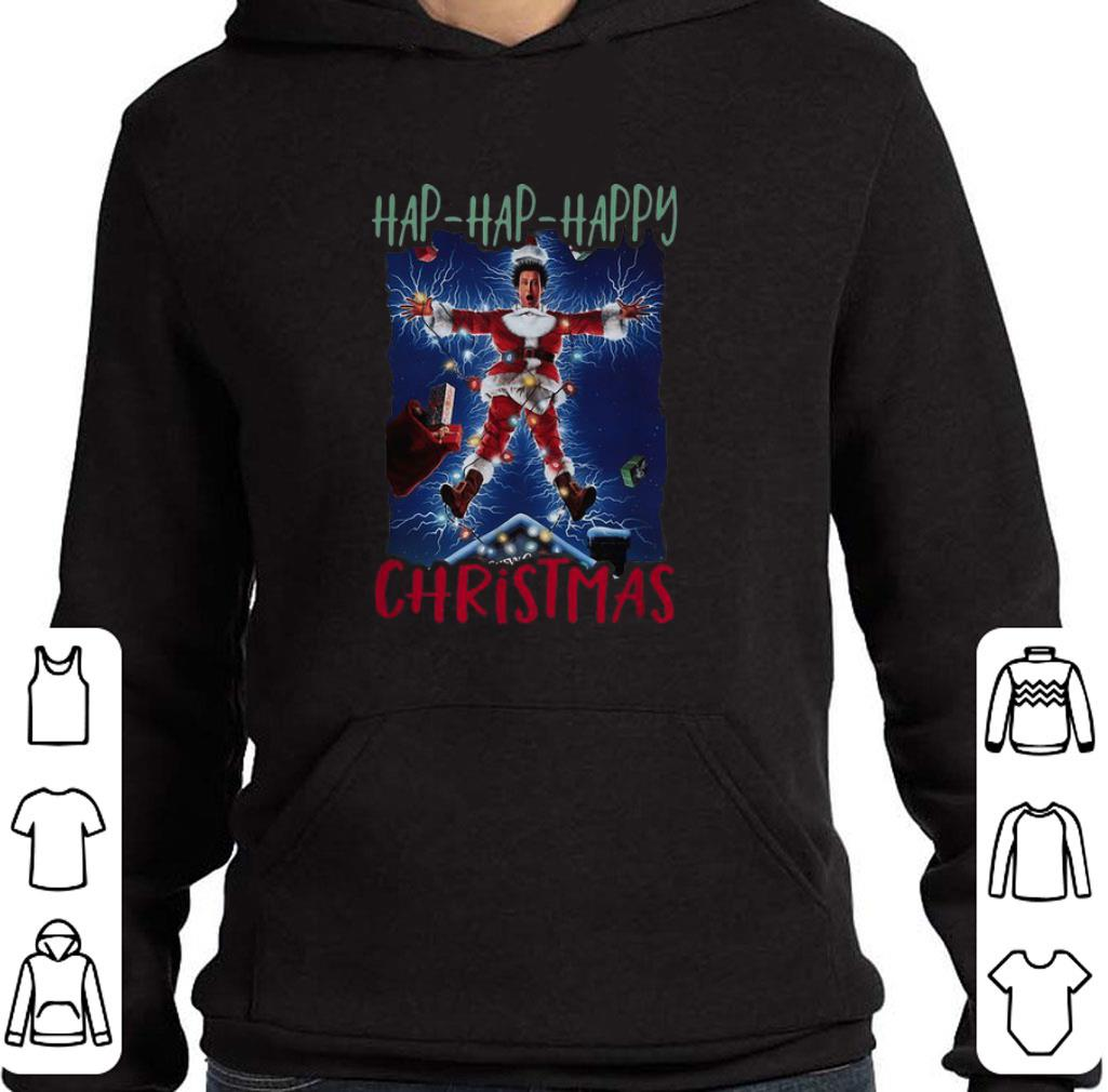 National Lampoon's Hap Hap Happy Christmas shirt