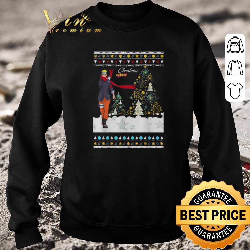 Nice Christmas Naruto ugly Christmas shirt