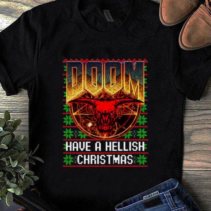 Nice Doom Have A Hellish Christmas Ugly Christmas Sweater Shirt 1 1.jpg