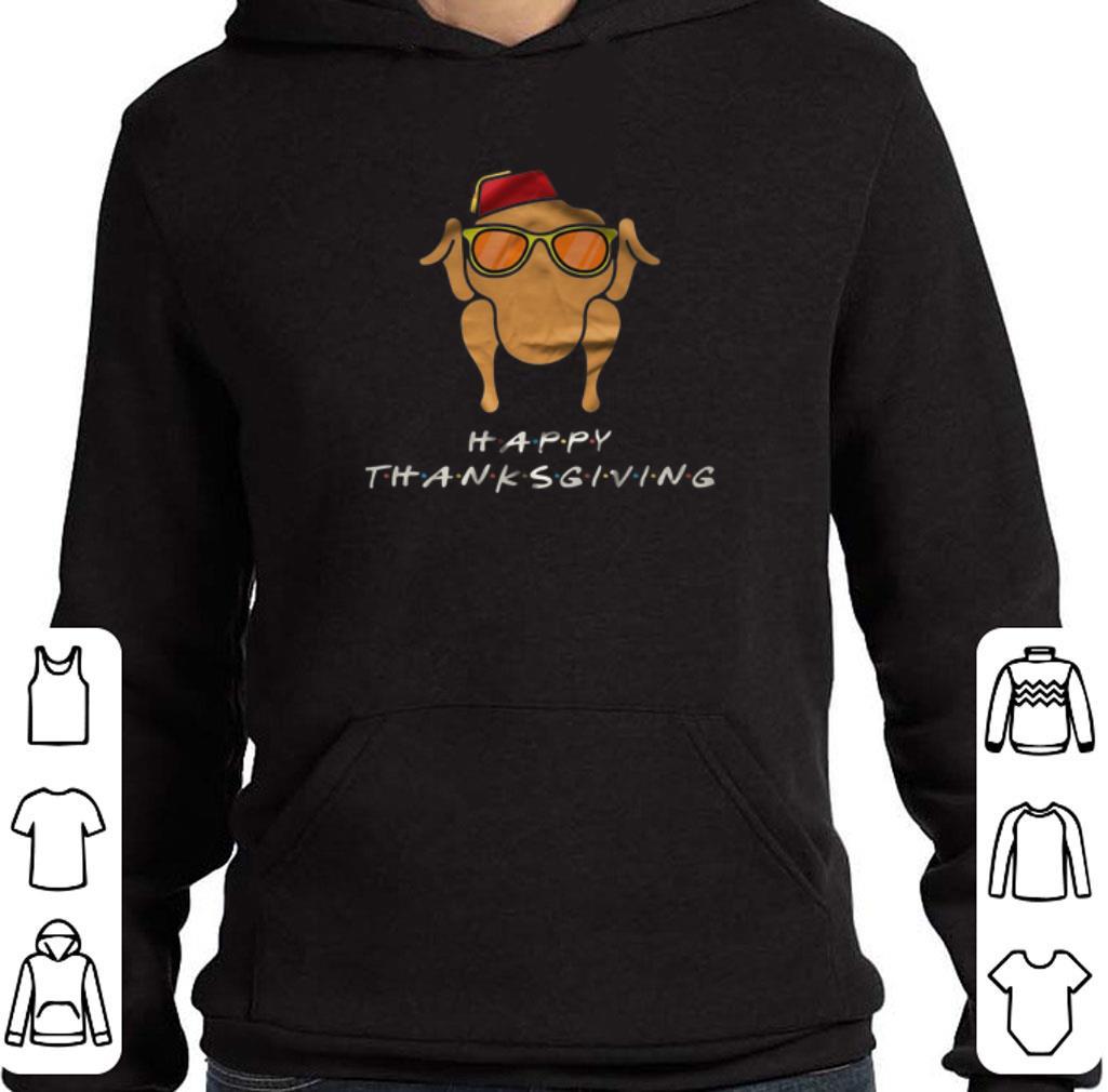 Nice Friends Happy Thanksgiving Chicken shirt