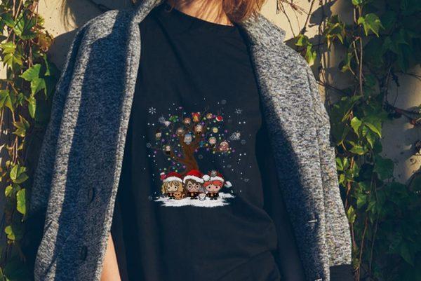 Nice Harry Potter Chibi Character Tree Merry Christmas Shirt 2 1.jpg