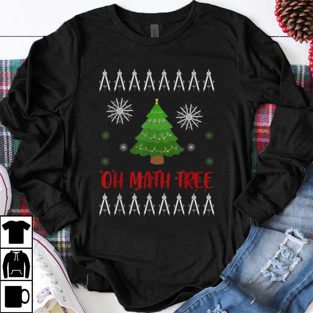 Nice Math Tree Christmas Tree Geometree Teacher Gift Shirt 1 1.jpg