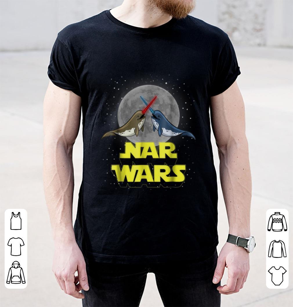 Nice Nar Wars Parody Star Wars Narwhals Lover Shirt 2 1.jpg