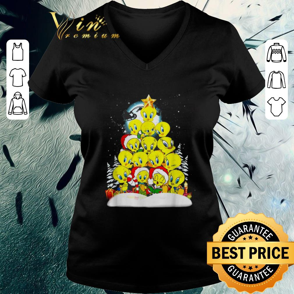 Nice Tweety Santa Christmas Tree Shirt 3 1.jpg