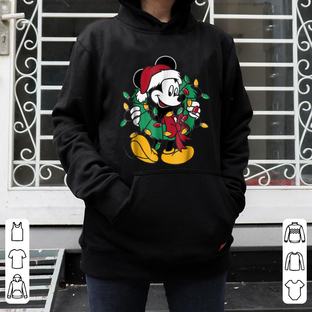 Official Disney Mickey Mouse Christmas Lights shirt