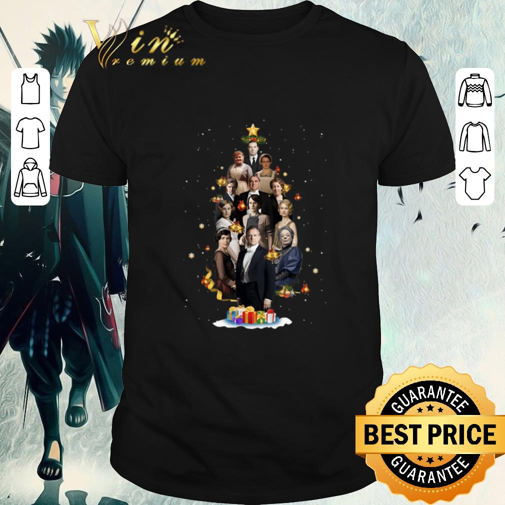 Official Downton Abbey Characters Christmas Tree Shirt 1 1.jpg