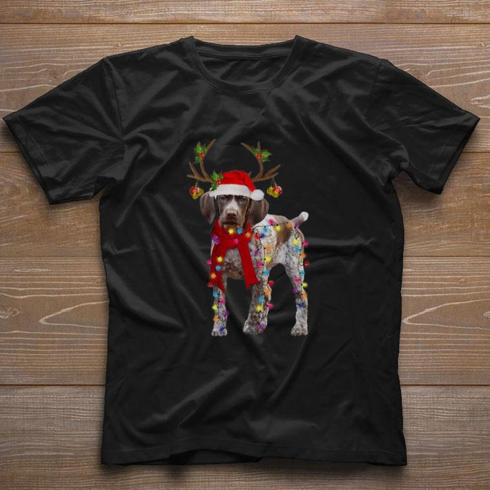 Official German Shorthaired Pointer Reindeer Christmas Shirt 1 1.jpg