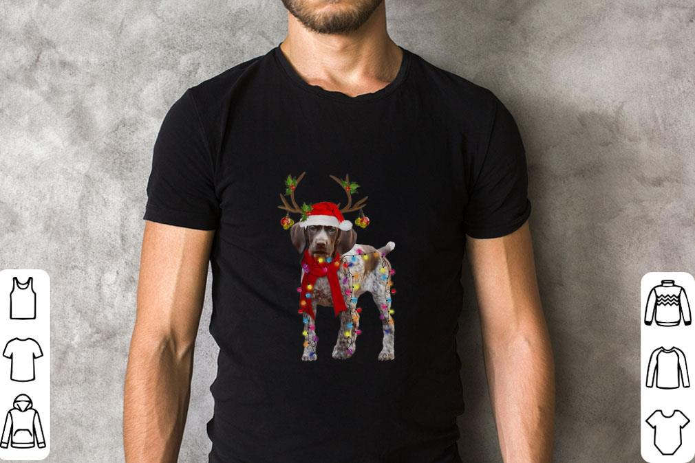 Official German Shorthaired Pointer Reindeer Christmas Shirt 2 1.jpg