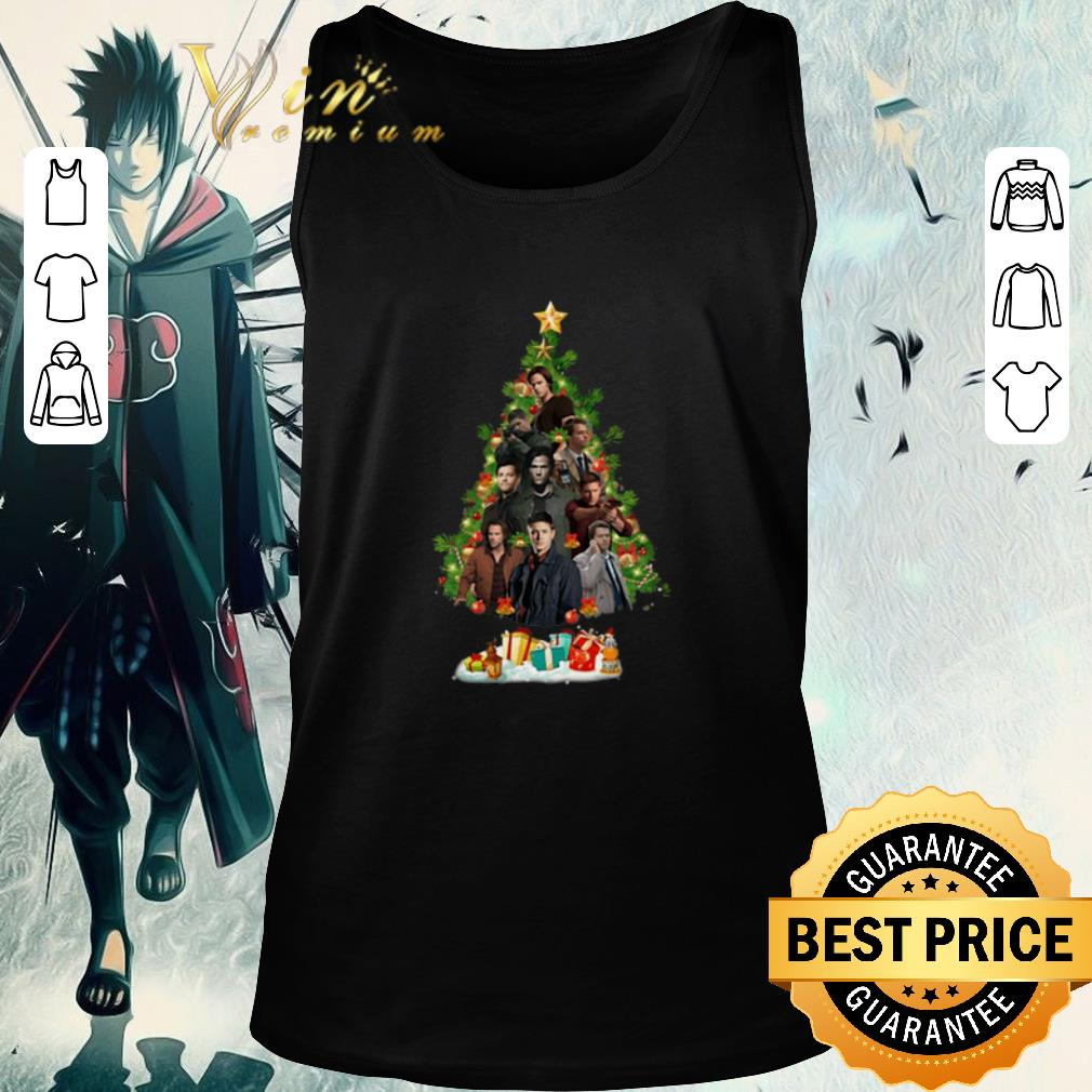 Official Supernatural Characters Christmas Tree Shirt 2 1.jpg