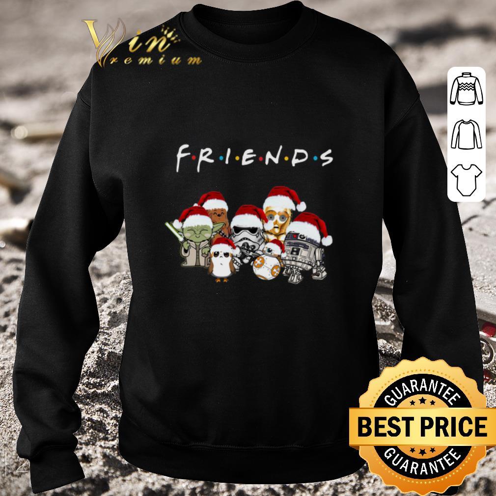 Original Friends Star War chibi characters shirt