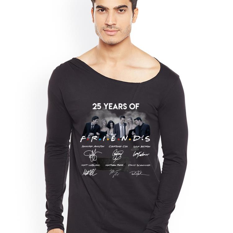 Pretty 25 Years Of Friends Signatures shirt