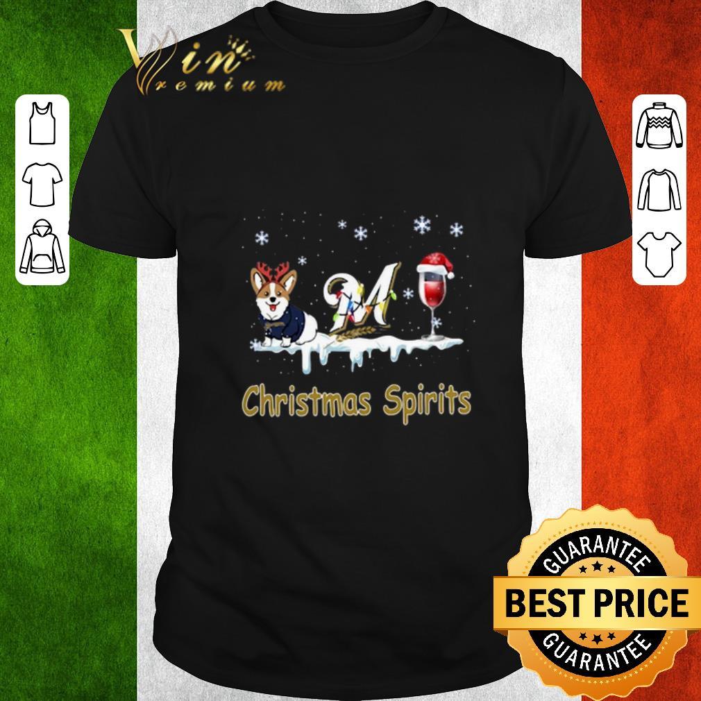 Pretty Corgi Milwaukee Brewers Christmas Spirit Shirt 1 1.jpg