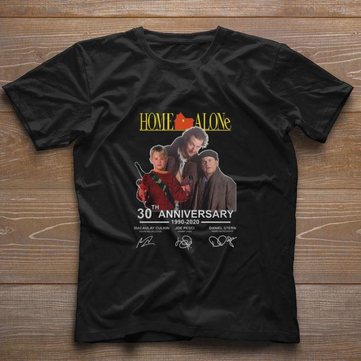 Pretty Home Alone 30th Anniversary 1990 2020 Macaulay Culkin Signatures Shirt 1 1.jpg