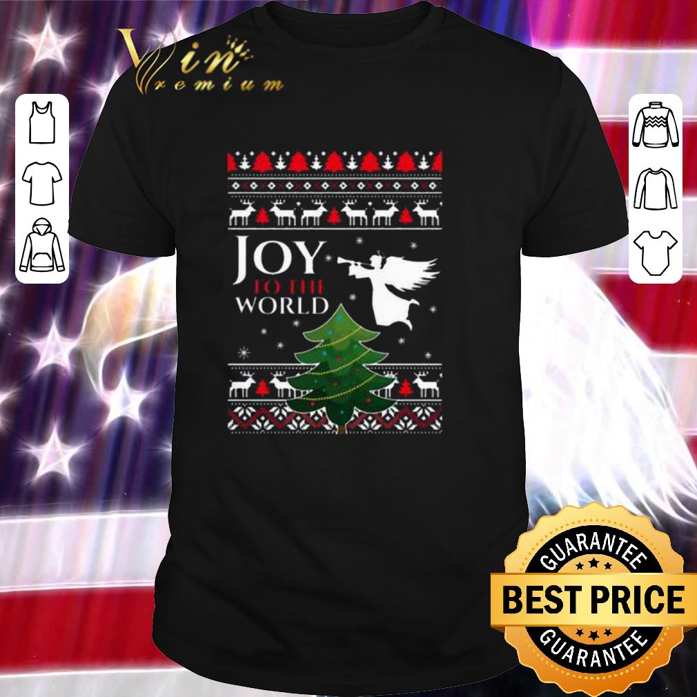 Pretty Joy To The World Christmas Shirt 1 1.jpg