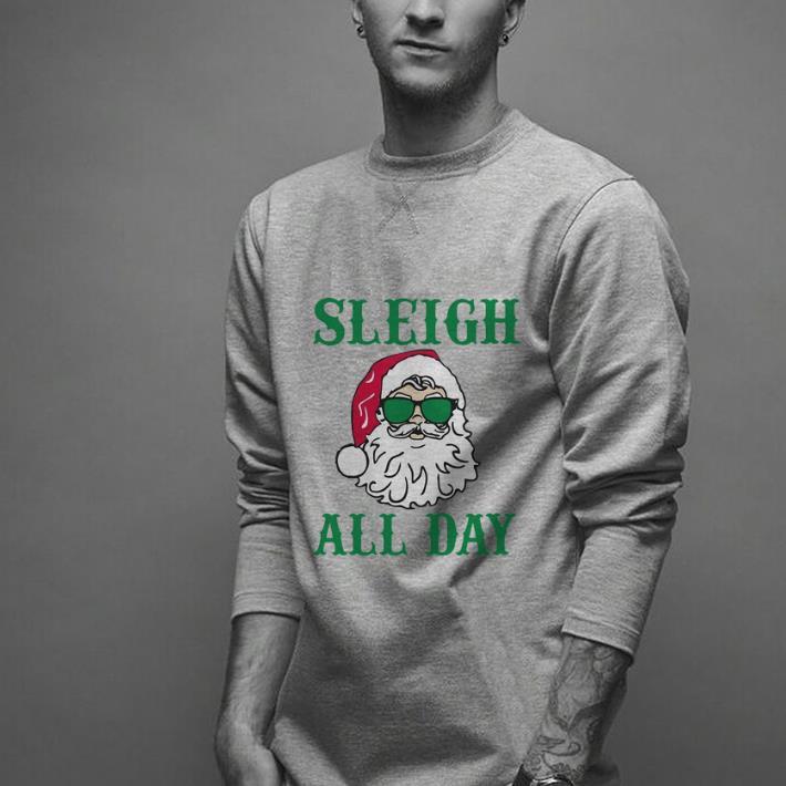Pretty Santa Claus Sleigh All Day Christmas Shirt 2 1.jpg