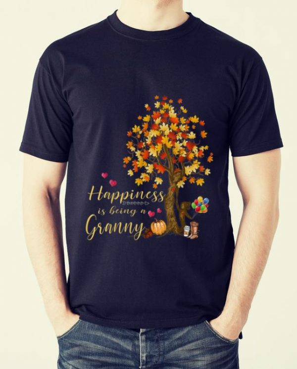 Pretty Womens Happiness Is Being A Granny Autumn Thanksgiving Shirt 2 1.jpg