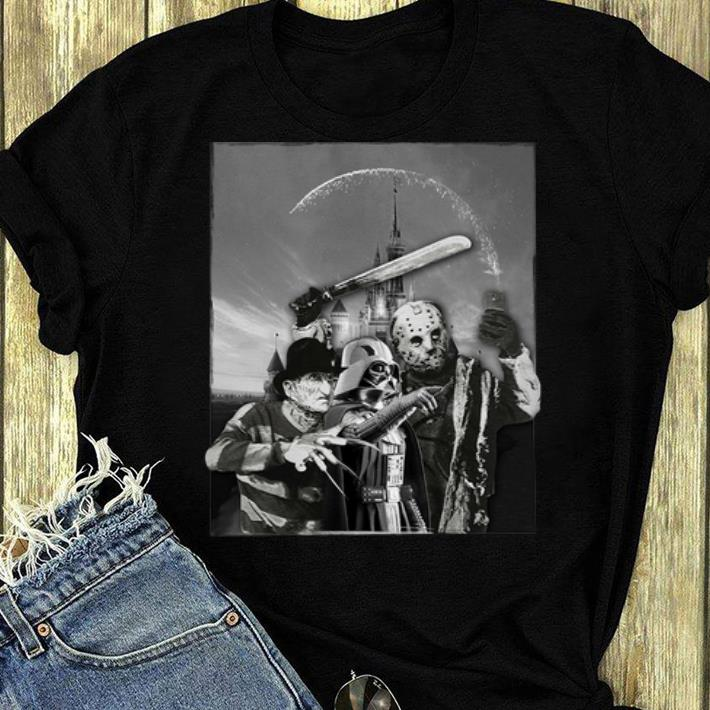 Top Darth Vader Freddy Krueger Jason Voorhees Disney shirt
