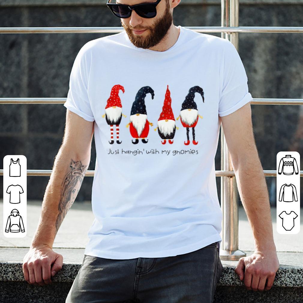 Top Just Hangin With My Gnomies Dwarf Christmas Shirt 2 1.jpg