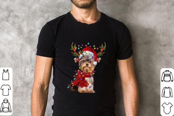 Yorkshire Terrier Reindeer Christmas Shirt 2 1.jpg