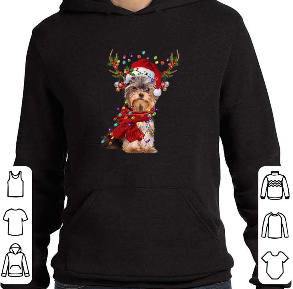 Yorkshire Terrier Reindeer Christmas shirt