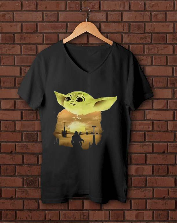 Awesome Baby Yoda Sunset Shirt 1 1.jpg