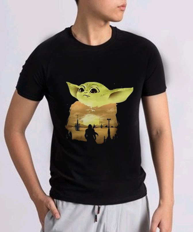 Awesome Baby Yoda Sunset Shirt 2 1.jpg