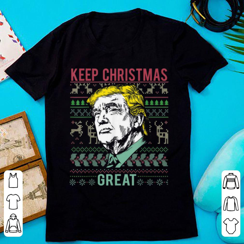 Awesome My President Trump Keep Christmas Great Merry Christmas Gift Sweater 1 1.jpg