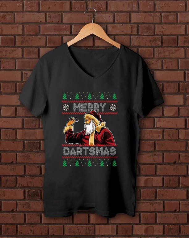 Awesome Santa Plays Darts Merry Dartsmas Ugly Christmas Shirt 1 1.jpg