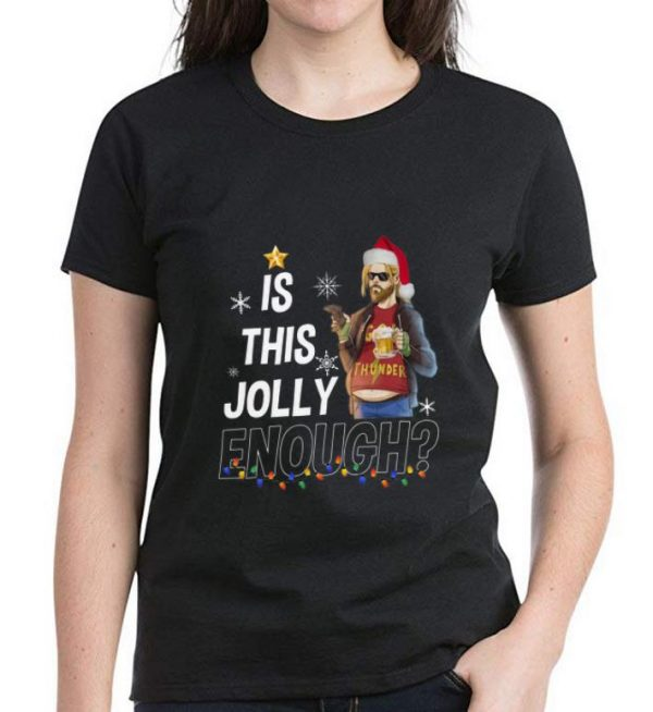 Beautiful Fat Thor God Of Thunder Is This Jolly Enough Christmas Shirt 3 1.jpg
