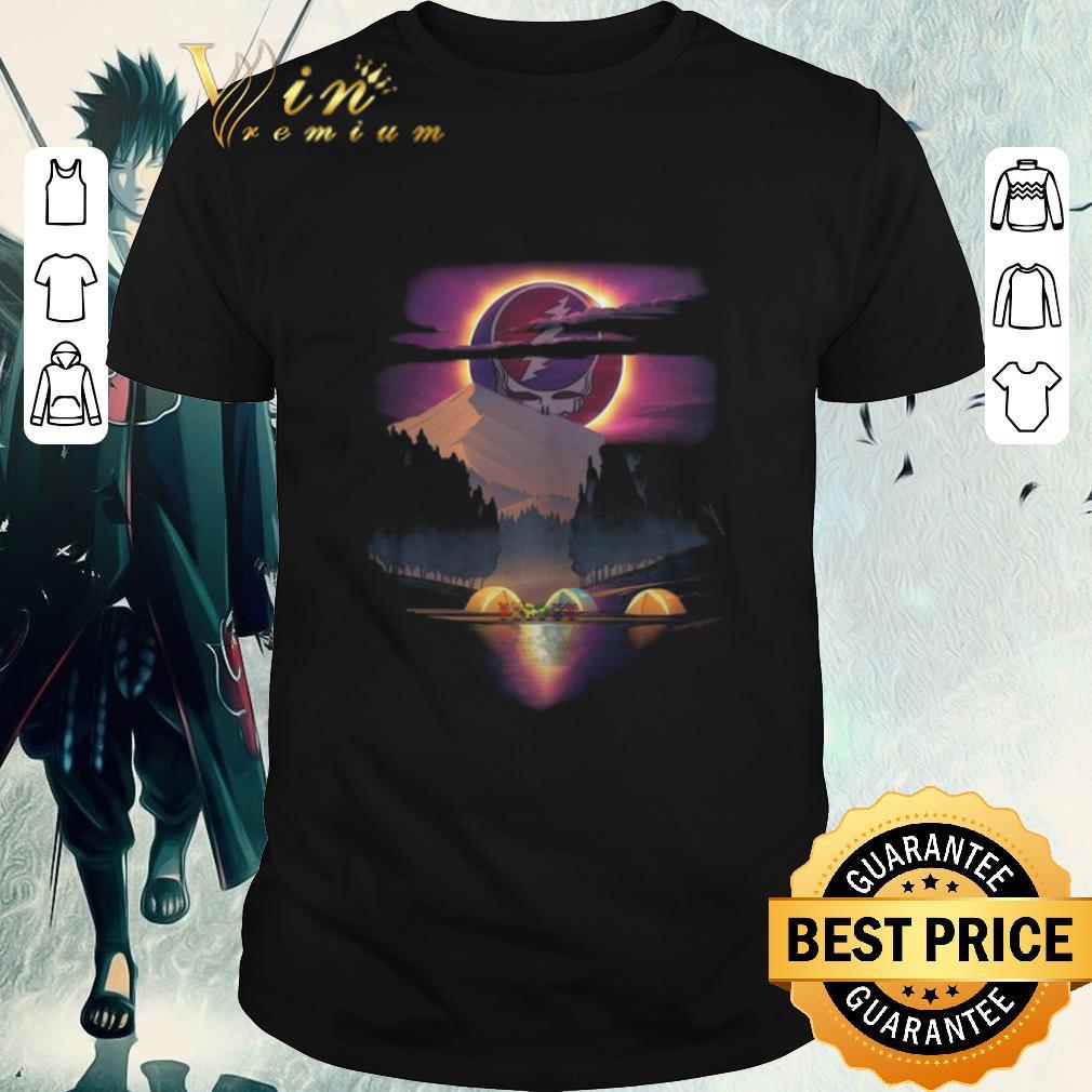 Funny Grateful Dead Logo Camping Bear Sunset Shirt 1 1.jpg