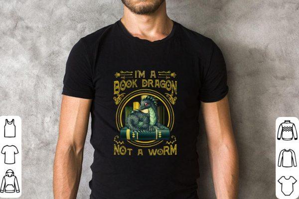 Funny I M A Book Dragon Not A Worm Shirt 2 1.jpg