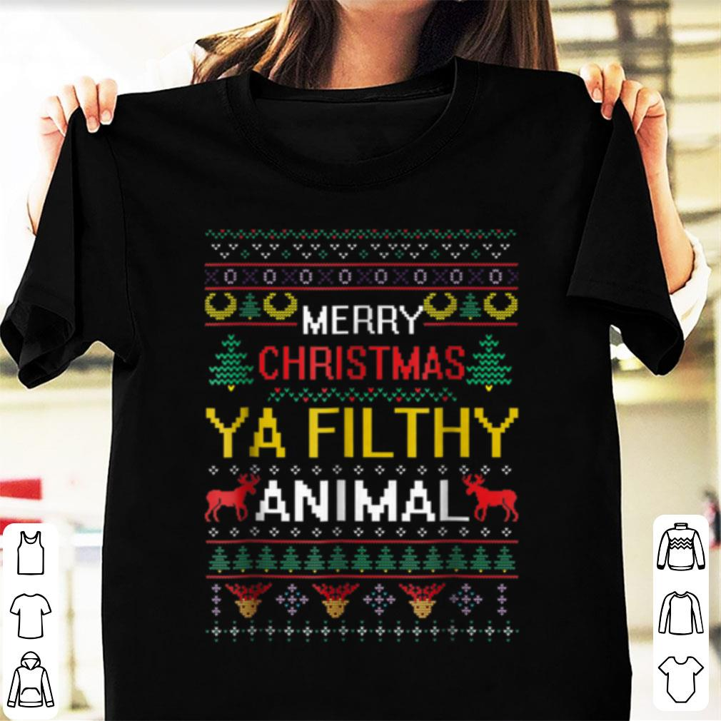 Great Filthy Animal Ya Merry Christmas Ugly Sweater Sweater 1 1.jpg