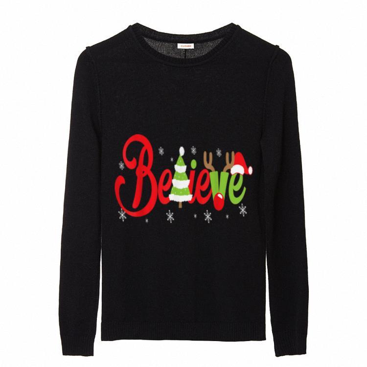 Great Funny Believe Santa Christmas Sweater 2 1.jpg