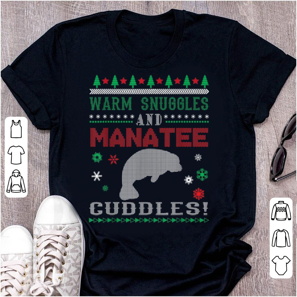 Great Ugly Sweater Manatee Merry Christmas Gift Sweater 1 1.jpg