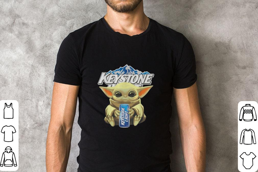 Hot Baby Yoda Hug Keystone Light Star Wars Mandalorian Shirt 2 1.jpg