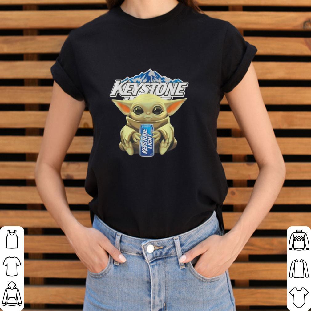 Hot Baby Yoda Hug Keystone Light Star Wars Mandalorian Shirt 3 1.jpg