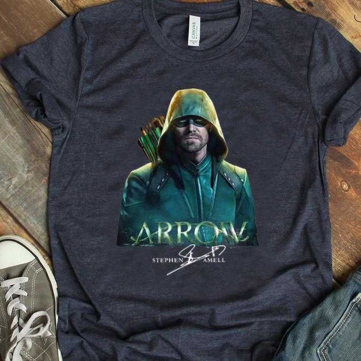 Nice Arrow Stephen Amell Signature Shirt 1 2 1.jpg