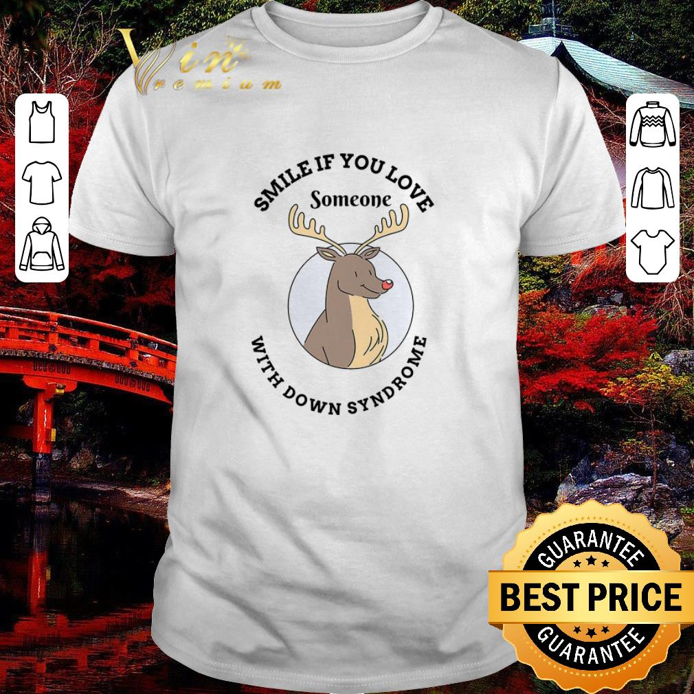 Official Reindeer Smile If You Love Someone With Down Syndrome Shirt 1 1.jpg