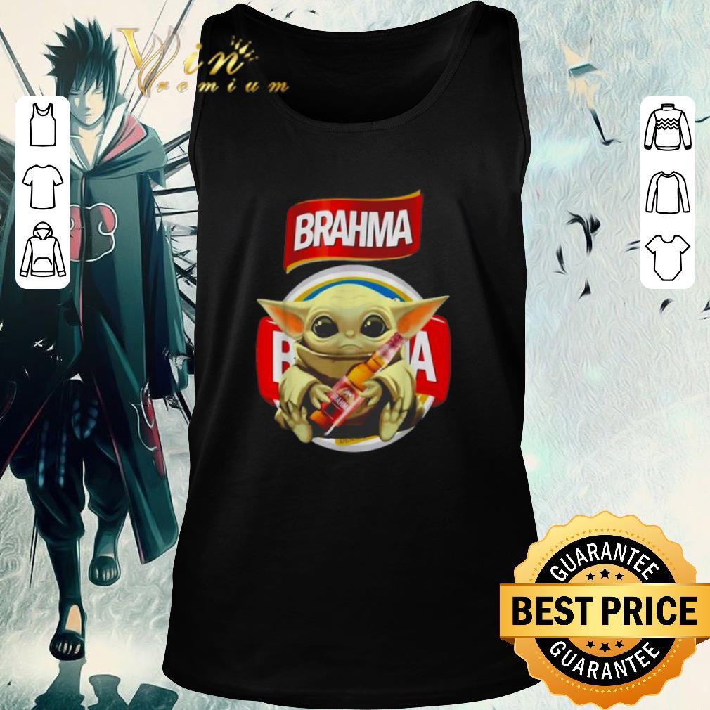 Official Star Wars Baby Yoda Hug Brahma Beer Mandalorian Shirt 2 1.jpg