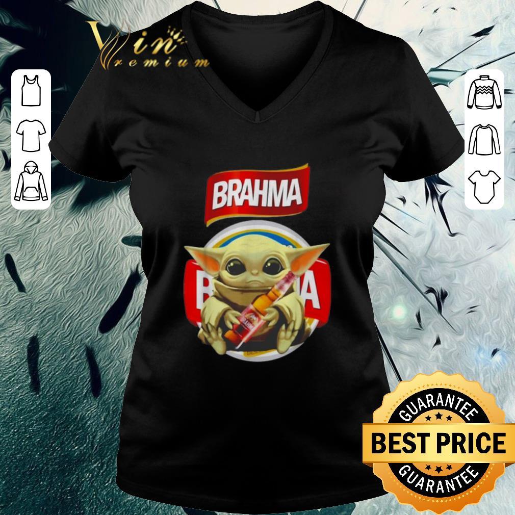Official Star Wars Baby Yoda Hug Brahma Beer Mandalorian Shirt 3 1.jpg