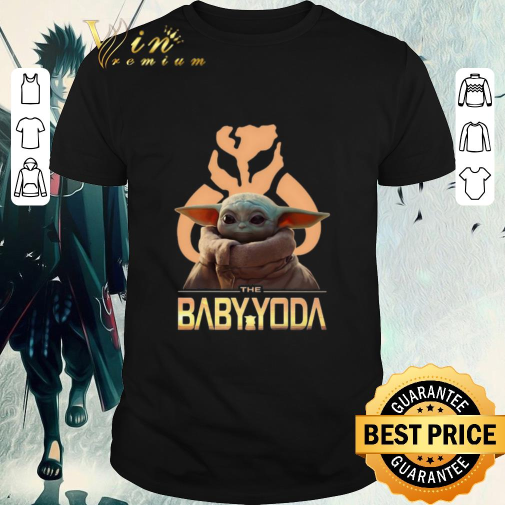 Official The Baby Yoda Star Wars Mandalorian Symbol Logo Shirt 1 1.jpg