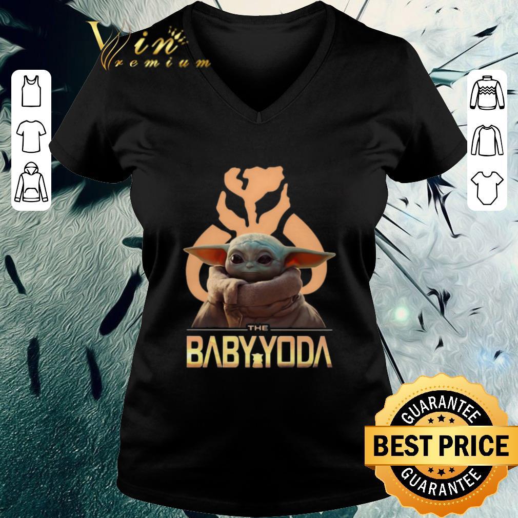 Official The Baby Yoda Star Wars Mandalorian Symbol Logo Shirt 3 1.jpg