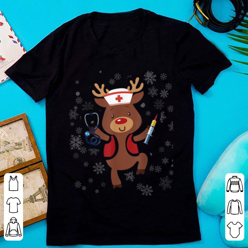 Original Medical Scrub Top Reindeer Nurse With Stethoscope Christmas Sweater 1 1.jpg